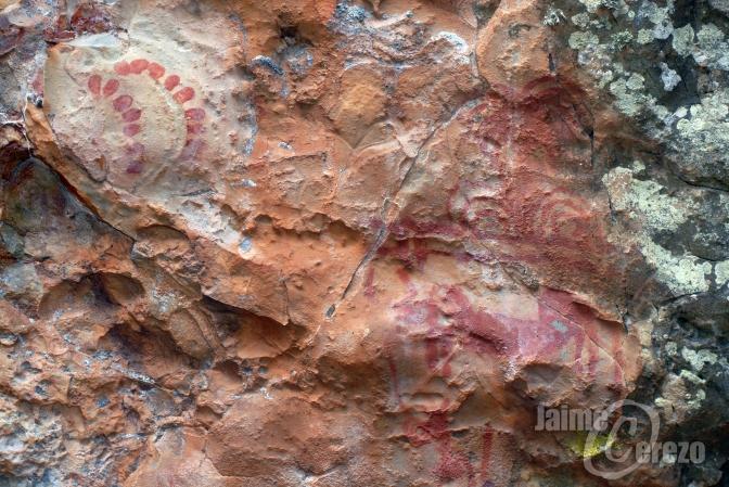 Pinturas rupestres del Paso de Pablo (Cabañas del Castillo)