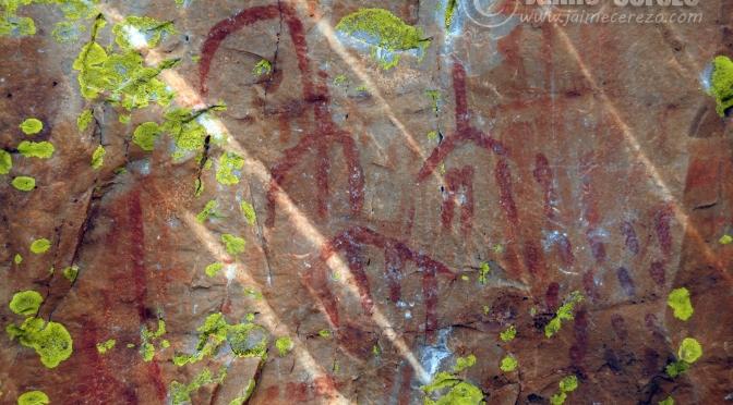Pinturas rupestres del Cancho del Reloj (Cabañas del Castillo)