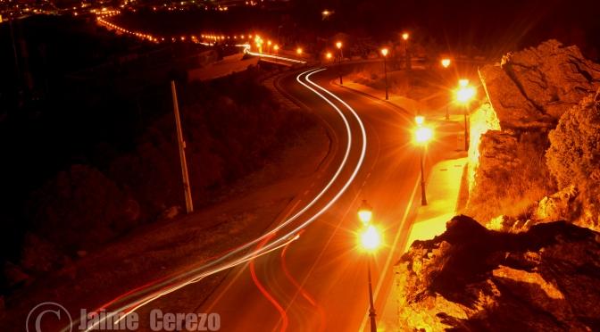 Fotos nocturnas desde el Santuario de la Virgen de la Montaña, en Cáceres.
