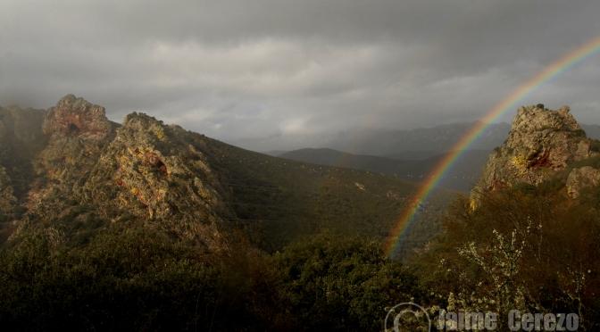 Día lluvioso en el Estrecho de la Peña y Valle del Guadarranque.
