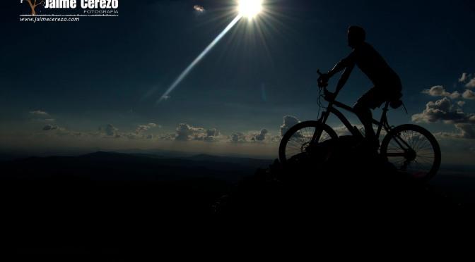 Subida en bicicleta al pico Villuerca.