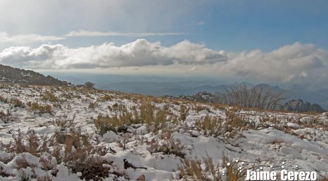 Vuelve a nevar en Villuercas