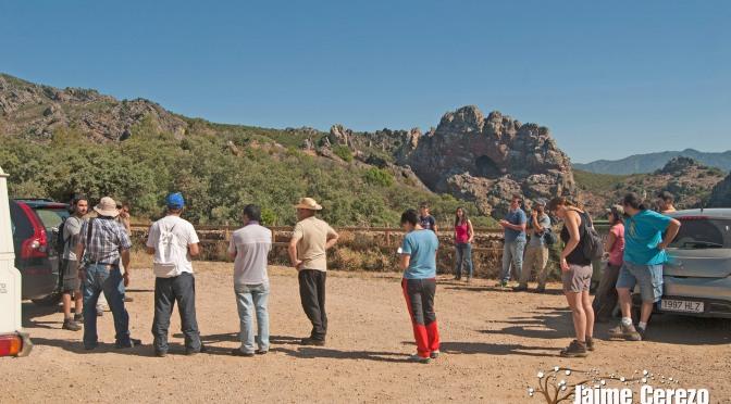 Clases de Geología en los Geositios de Alía, con los Guías Rangers del Geoparque Villuercas Ibores Jara.
