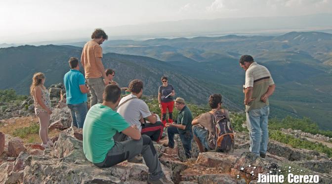 Visita de los Guías Ranger del Geoparque a Navatrasierra y su entorno …