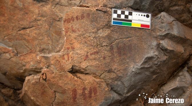 Pinturas rupestres de la cueva del Tío Gallinero.