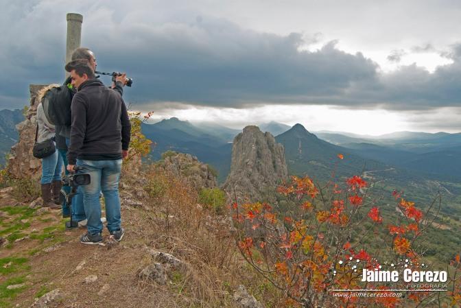 Ruta por Cabañas del Castillo enmarcada en Geodisea 2015.