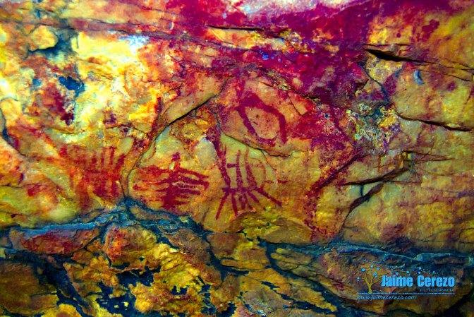 Nuevas pinturas rupestres en Solana de cabañas.