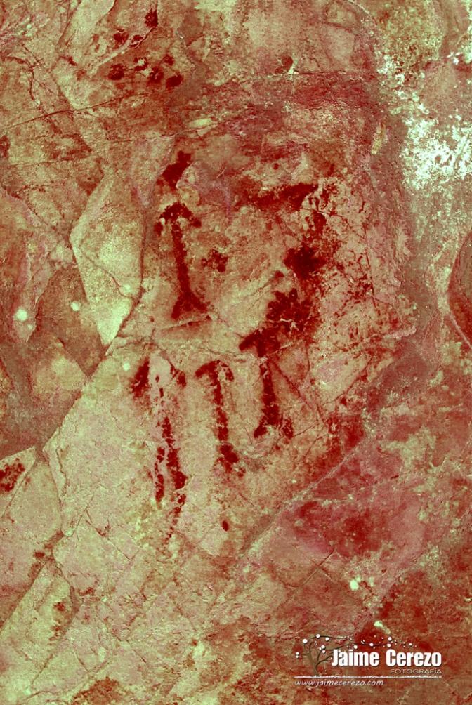 Hallazgo de una nueva cueva con pinturas rupestres en Alía (Cáceres)
