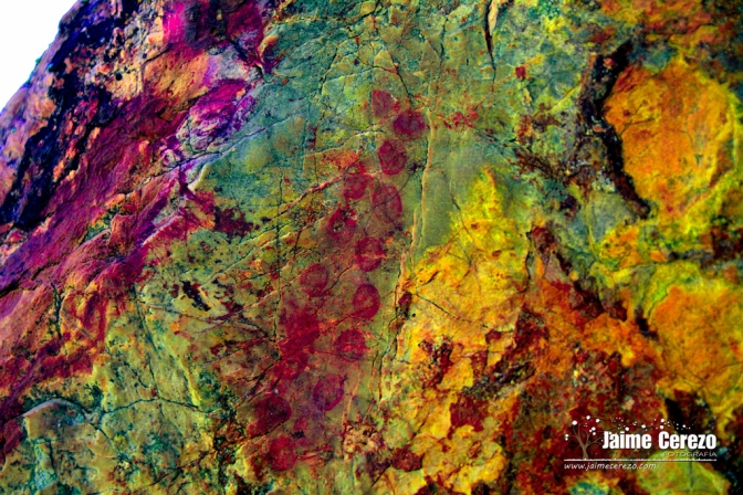 Aparecen nuevas pinturas rupestres en Cabañas del Castillo
