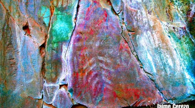 Pinturas rupestres inéditas en Robledo del Mazo